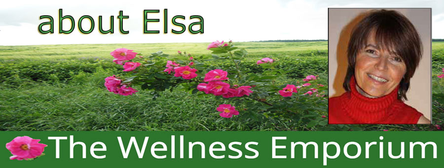 about Elsa, at The Wellness Emporium